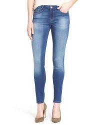 Mavi Jeans | Blue 'adriana' Stretch Skinny Jeans | Lyst