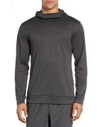 Nike | Gray Dri-fit Training Hoodie for Men | Lyst