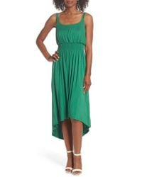 Felicity & Coco - Green Harlow High/low Tank Dress - Lyst