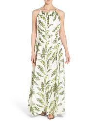 Tommy Bahama - Multicolor Palmier Watercolor-Print Georgette Dress - Lyst