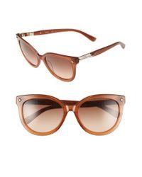 MCM - Brown 56mm Retro Sunglasses - Cognac - Lyst