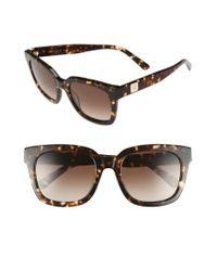 MCM - Brown 54mm Retro Sunglasses - Lyst