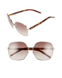 Marc Jacobs - Metallic 61mm OverGold/ Havana - Lyst