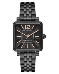 Marc Jacobs | Black Vic Bracelet Watch | Lyst