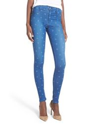 James Jeans - Blue 'yoga' Seamless Leggings - Lyst