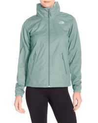 The North Face Green 'resolve Plus' Waterproof Jacket