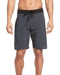 RVCA | Blue 'register' Board Shorts for Men | Lyst