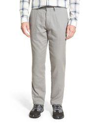 Patagonia   Gray 'back Step' Regular Fit Pants for Men   Lyst