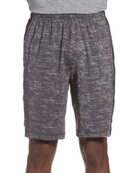 Adidas Originals - Gray Stripe Training Shorts for Men - Lyst