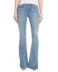 Hudson   Blue Jodi High Waist Flare Jeans   Lyst