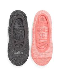 Zella - Multicolor 'studio' Ankle Socks - Lyst