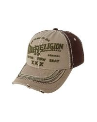 True Religion | Multicolor 'triple X' Baseball Cap for Men | Lyst