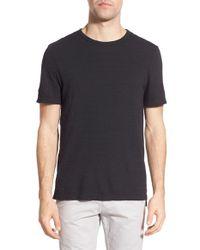 Michael Stars - Black Crewneck T-shirt for Men - Lyst