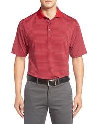 Bobby Jones | Blue Xh2o Edge Stripe Stretch Golf Polo for Men | Lyst