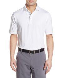 Bobby Jones | White Xh20 Regular Fit Stretch Golf Polo for Men | Lyst