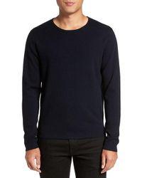 Calibrate Blue Crewneck Sweater for men