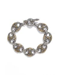 Konstantino | Metallic 'hebe' Link Toggle Bracelet | Lyst