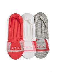 Zella - Multicolor No-show Socks - Lyst