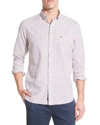 Victorinox - White Victorinox Swiss Army 'glogghus' Slim Fit Check Sport Shirt for Men - Lyst