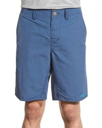 Patagonia | Blue 'wavefarer' Regular Fit Water Resistant Upf 50+ Nylon Shorts for Men | Lyst