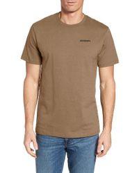 Patagonia   White 'trout Fitz Roy' Organic Cotton T-shirt for Men   Lyst