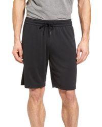 Zella | Black Pyrite Knit Shorts for Men | Lyst