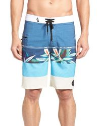 Rip Curl - Blue 'mirage Sections' Board Shorts for Men - Lyst