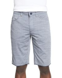 Howe - Gray 'hands Down' Reversible Cotton Shorts for Men - Lyst