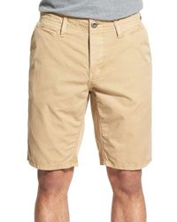 Original Paperbacks - Natural 'napa' Chino Shorts for Men - Lyst