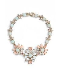 Marchesa - Metallic Jewel Flex Bracelet - Lyst
