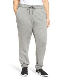 Nike | Gray French Terry Sweatpants for Men | Lyst