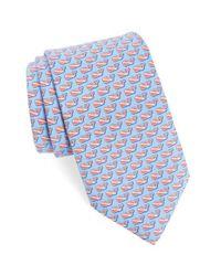 Vineyard Vines - Blue Diver Whale Silk Tie for Men - Lyst