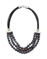 Simon Sebbag - Multicolor Stone Bib Necklace - Lyst