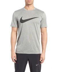 Nike | White Legend Dri-fit T-shirt for Men | Lyst