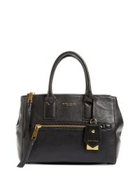Marc Jacobs   Black Recruit East/west Pebbled Leather Tote   Lyst