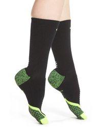 Nike Black Elite Cushioned Running Socks