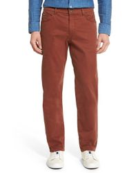 Brax   Multicolor Cooper Stretch Pima Cotton Pants for Men   Lyst