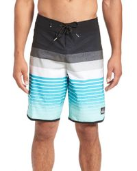 Quiksilver | Blue Caliber Scalloped Board Short for Men | Lyst