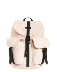 Lyst - Herschel Supply Co.  dawson  Backpack in Pink 498e34b700ddf