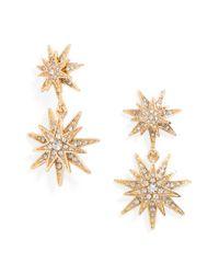 BaubleBar | Metallic 'celestial' Drop Earrings | Lyst