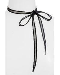 Chan Luu | Multicolor Chiffon Tie Necklace | Lyst