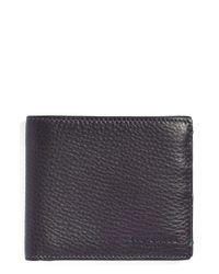 Ted Baker | Gray 'dock' Leather Wallet for Men | Lyst