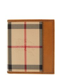 Burberry | Multicolor 'rowan' Check Nylon Wallet for Men | Lyst