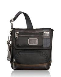 Tumi   Black 'alpha Bravo - Barstow' Crossbody Bag for Men   Lyst