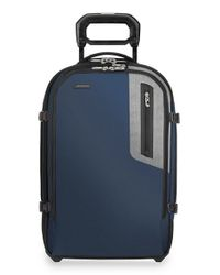 Briggs & Riley | Blue 'brx - Explore' Domestic Wheeled Carry-on for Men | Lyst