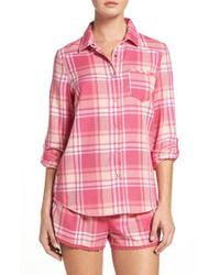 Make + Model | Pink Plaid Pajamas | Lyst