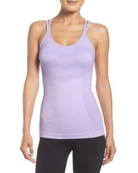 Zella | Purple Activation Seamless Tank | Lyst