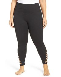Zella - Black Va Va Impulse High Waist Midi Leggings - Lyst