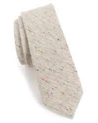 Alexander Olch - White 'the Crisp' Cotton Melange Tie for Men - Lyst