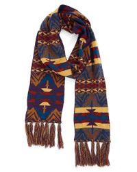 Pendleton | Multicolor Echo Peaks Merino Wool Fringe Scarf | Lyst